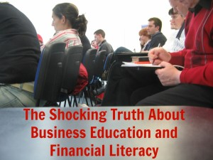 financial literacy and business education