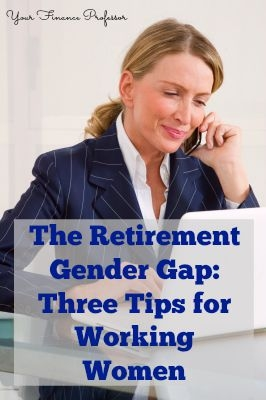 retirement savings working women