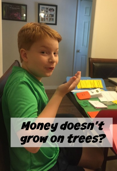 money doesn't grow on trees lap book review