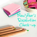 New Year's Resolution Checkup