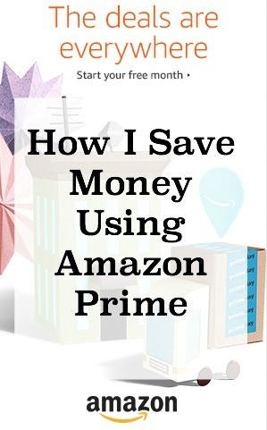 saving money using Amazon Prime